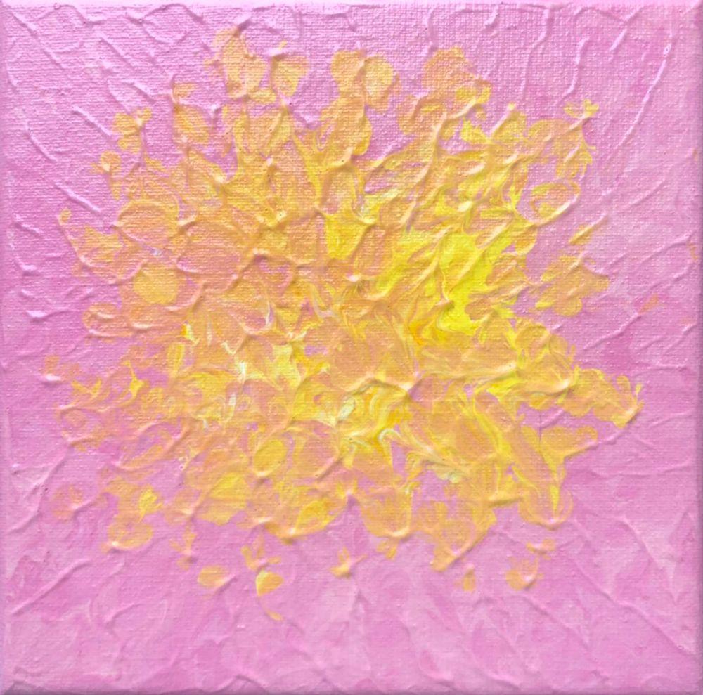 Mini-Pink Dahlia